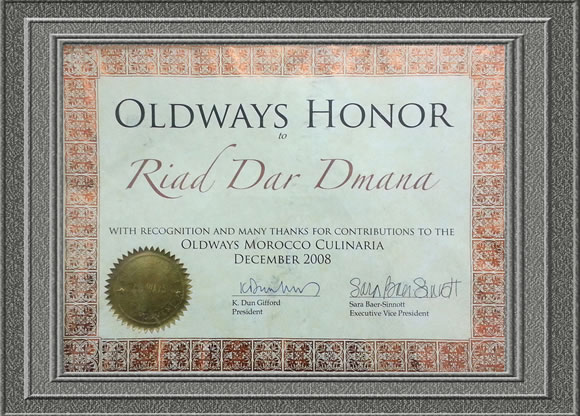 OLDWAYS HONOR